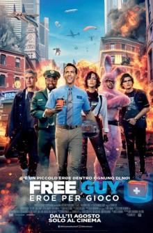 Free Guy - Eroe per gioco (2021) Poster