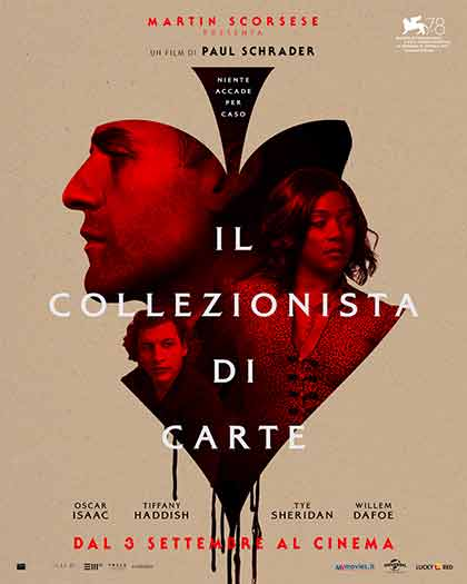 Il Collezionista di carte - The Card Counter (2021) Poster