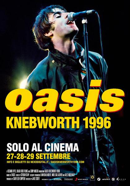 Oasis. Knebworth 1996 (2021) Poster