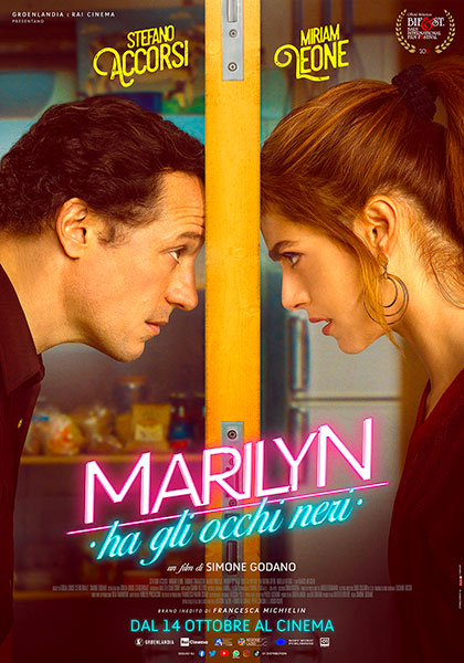 Marilyn ha gli occhi neri (2021) Poster
