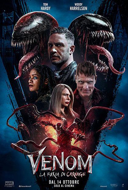 Venom 2: La furia di Carnage (2021) Poster