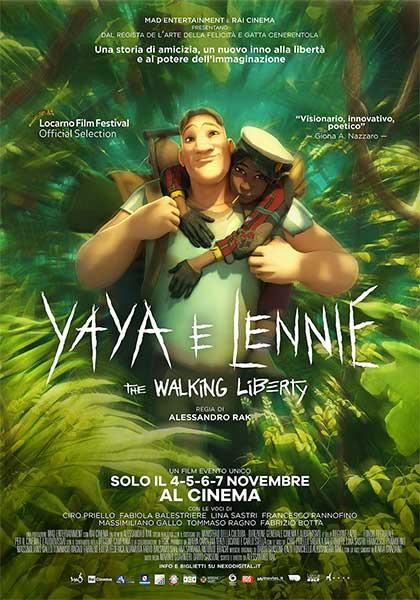 Yaya e Lennie - The Walking Liberty (2021) Poster