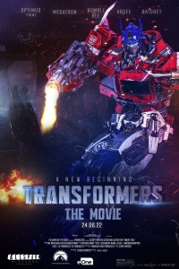Transformers 7: Rise of the Beasts (2022) Poster